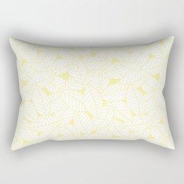 Leaves in Daisy Rectangular Pillow