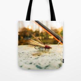 Caddis Fly Tote Bag