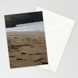 Sandy Footprints Left Behind Stationery Cards