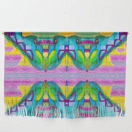 Geometric Kaleidoscope Trippy Times Wall Hanging
