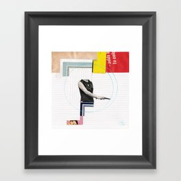 Draw It 4 Framed Art Print