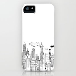 Gotham City Skyline iPhone Case