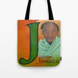 J is for Jamaica Tote Bag