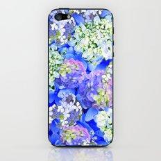 Billowing Blush in Blue iPhone & iPod Skin