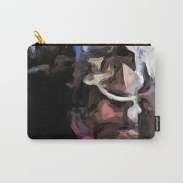 Eclectic Pink Glass Carry-All Pouch