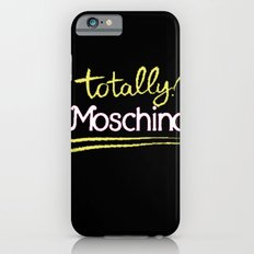 Totally Moschino Black iPhone 6s Slim Case