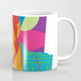LARRY :: Memphis Design :: Miami Vice Series Coffee Mug