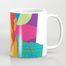 LARRY :: Memphis Design :: Miami Vice Series Coffee Mug