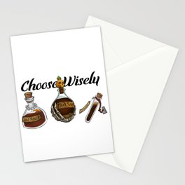 Choose Wisely Stationery Cards