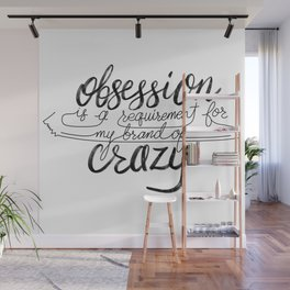 Figure Skating Obsession Wall Mural
