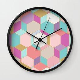 HEX2 Wall Clock
