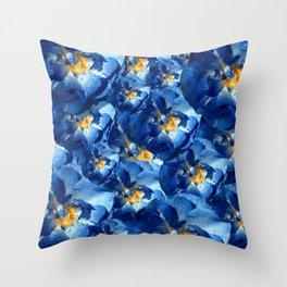 Flourished beauty Throw Pillow