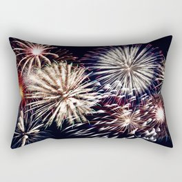 celebration fireworks Rectangular Pillow