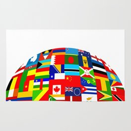 Flag World Rug