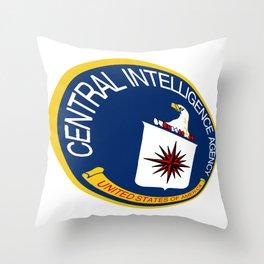 CIA Shield Throw Pillow