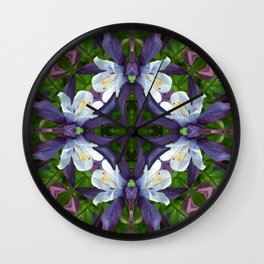 Bartram's Blossom Wall Clock