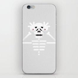 Skeleton / Pale Man iPhone Skin