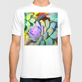 Succulent Color - Botanical Art by Sharon Cummings T-shirt