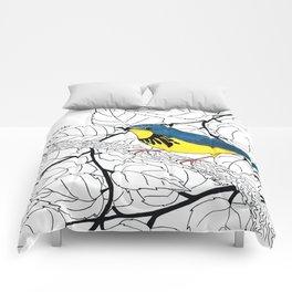 Canada Warbler Comforters