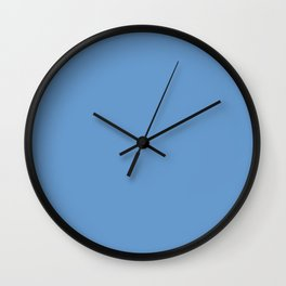 Livid - solid color Wall Clock