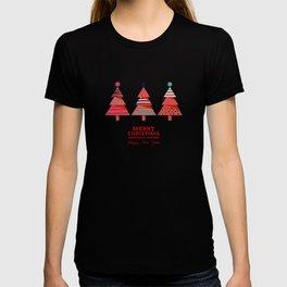 Three Christmas Trees T-shirt