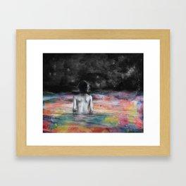 Verso l'infinito Framed Art Print