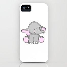 Pretty Pachyderm iPhone Case