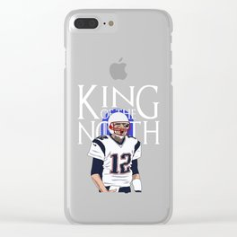 King of the north Clear iPhone Case