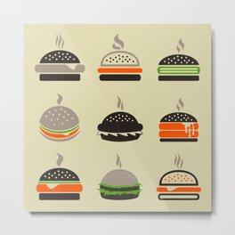 Hamburger2 Metal Print