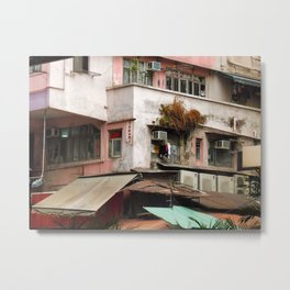 HK Metal Print