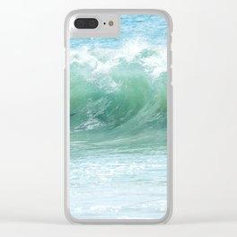 Surf Laguna Clear iPhone Case