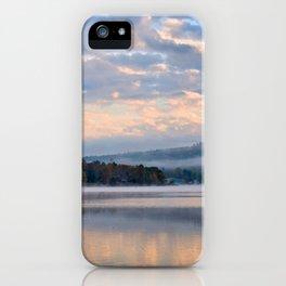 Pastel Dawn in the Adirondacks iPhone Case