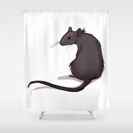 Feeling Ratty Shower Curtain