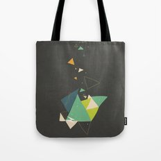 Exploding Triangles//Six Tote Bag