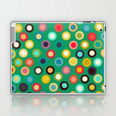green pop spot Laptop & iPad Skin