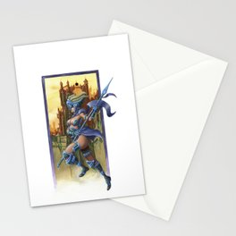 Sky Warrior Stationery Cards