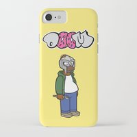sofa iPhone & iPod Cases featuring Sofa King by n3rdeye