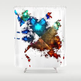 Abstract_040612 Shower Curtain