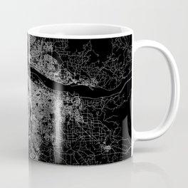 portland map Coffee Mug