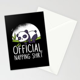 Panda cute Official Napping Sleeping Stationery Cards