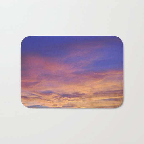COME AWAY WITH ME - Autumn Sunset #1 #art #society6 Bath Mat
