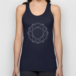 Poly Constellation Outline Unisex Tank Top