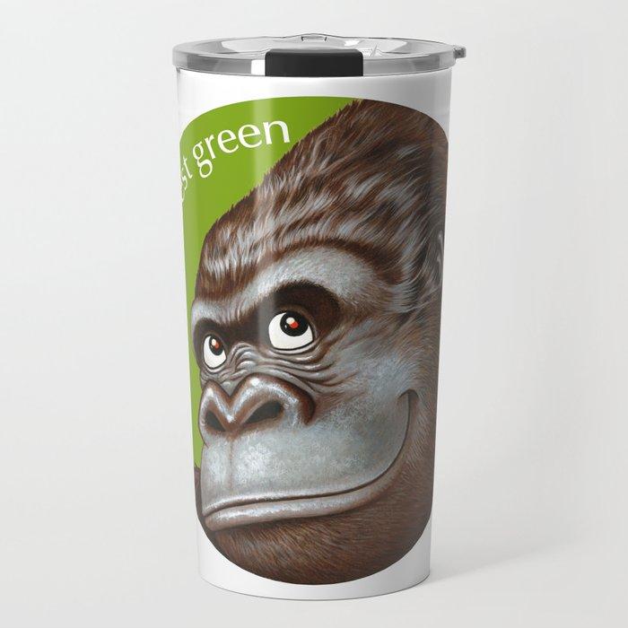 Keep the Forest Green_02 Travel Mug