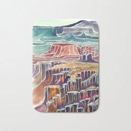 Canyonlands  Kat Ryalls Bath Mat