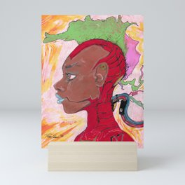 Plugged in Mini Art Print