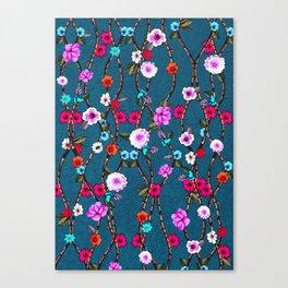 Spring Flowers Decò Canvas Print