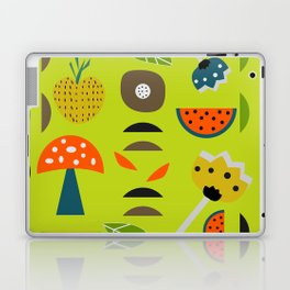 Modern decor with fruits and flowers Laptop & iPad Skin