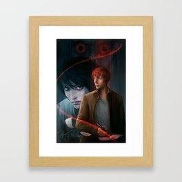 Death Note Framed Art Print