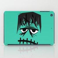 frankenstein iPad Cases featuring Frankenstein by geojey