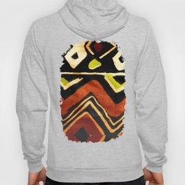 Africa Design Fabric Texture Hoody